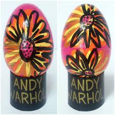 easter egg ideas pop art inspired eggs part 1 craft paper scissors