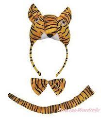 tiger headband 3d yellow tiger headband bow 3pc kids child school