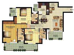 3 bhk ramprastha primera floor plan archives floorplan in