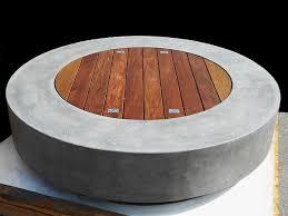 Concrete Firepits Pit Tables Ernsdorf Design Concrete Pit Bowls