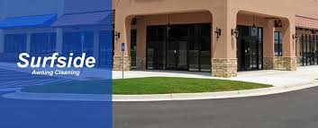 Awning Pros Surfside Awning Cleaning Provides Sidewalk Cleaning Services In