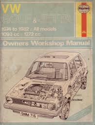 haynes 716 vw golf u0026 jetta 1974 1982 all models 1093 u00261272cc