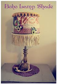 diy boho lamp shade making my own home pinterest boho
