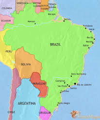 map of brazil map of brazil at 1914ad timemaps