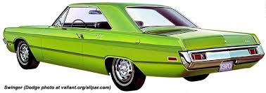 the dodge dart plymouth valiant knockoff