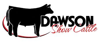 dawson show cattle logo by ranch house designs new logo