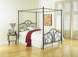 Iron Canopy Bed Frame Metal Canopy Bed Frame Queen King How To Care Metal Canopy Bed