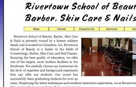 rivertown of beauty barber skin care and nails columbus