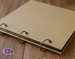 photo albums cheap blank scrapbook album etsy