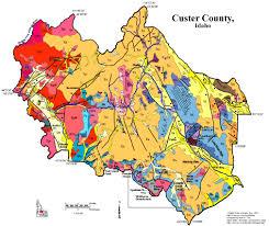 Map Of Idaho And Montana by Digital Geology Of Idaho Basin And Range