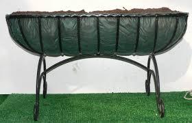 demonstration trough hayrack window box manger wall basket