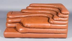 canap de sede de sede canapé d angle en cuir modèle terraza ds 1025 de couleur
