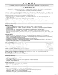 exles of elementary resumes elementary resume sle 0a education free resumes teaching