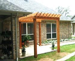 Pergola On Concrete Patio by Patio Ideas Small Backyard Concrete Patio Designs Small Wood