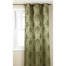 Chezmoi Collection Curtains by Regal Home Collections Olympia Jacquard Grommet 19 Off