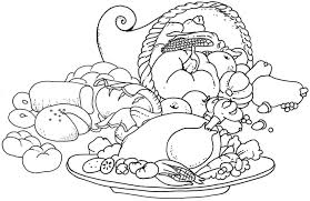 4 best images of printable coloring pages of food free printable