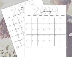 wedding planner calendar printable calendar set bundle 2017 2018 planner calendars