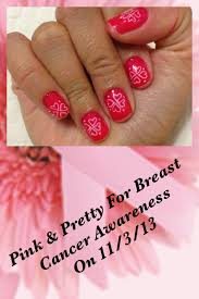 pink u0026 pretty for breast cancer awareness on 11 3 13 base coat