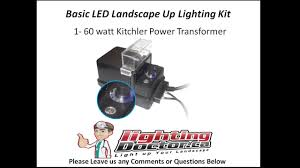 How To Install Led Landscape Lighting Basic Led Landscape Lighting Diy Kit How To Install Landscape
