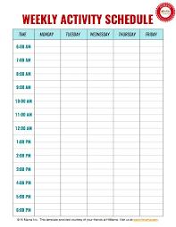 daily 5 schedule template u2013 calendar