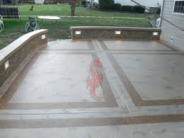 Pictures Of Stamped Concrete Walkways by Patio Ideas Stamped Concrete Patios Driveways Walkways Columbus