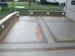 Backyard Stamped Concrete Patio Ideas Patio Ideas Stamped Concrete Patios Driveways Walkways Columbus