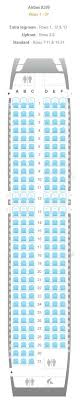 airbus a320 floor plan airline seating charts boeing airbus aircraft seat maps jetblue