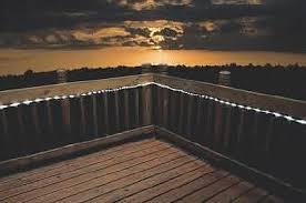solar deck string lights solar powered led lights home pinterest lighting