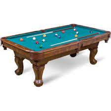 Game Room Pool Table Billiard Set Cue Sticks Balls Chalk Cubes