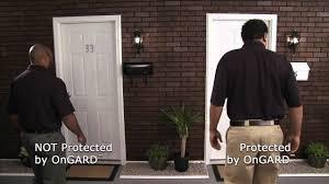 Exterior Door Kick Plate Front Door Kick Plate The Ongard Brace Prevents Burglaries