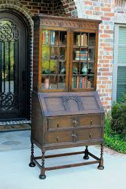 secretary desk with bookcase bookcases ebay ebay antique bookcase for sale slfencing club