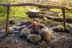 How To Make Fire Pits - how to start a campfire and build a fire pit on your next survival