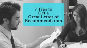7 tips to get a great letter of recommendation jlv college