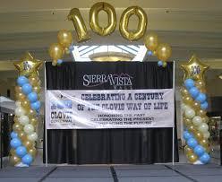 balloon decor of central california home