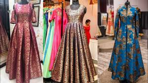 design dress beautiful brocade indian dresses designs ideas banarsi brocade