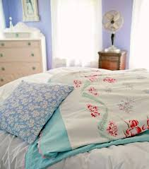 Duvet Diy Diy Upcycled Vintage Tablecloth Duvet Cover My So Called Crafty Life
