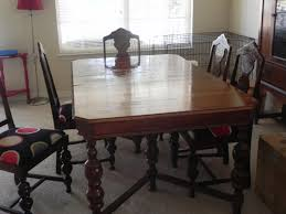 for sale dining room table w 6 chairs and china cabinet