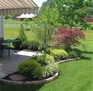 Outdoor Patio Landscaping Best 25 Landscaping Around Patio Ideas On Pinterest Wine Barrel