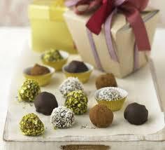 easy chocolate truffles recipe bbc good food
