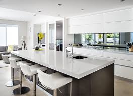 mirror backsplash for the kitchen kitchens kitchen design and