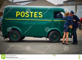vintage peugeot cars french postal service vintage van editorial photo image 74195831