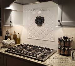 Tumbled Marble Kitchen Backsplash by Accent Tiles For Kitchen Backsplash Gallery Also Pictures Tumbled