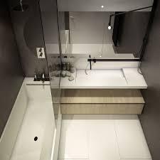 Designing For Small Spaces  Beautiful Micro Lofts Visual Mavis - Small square bathroom designs