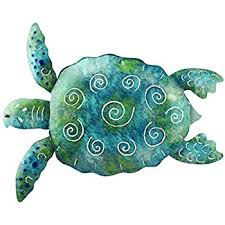 Sea Turtle Bathroom Accessories Amazon Com Regal Art U0026gift Sea Turtle Wall Decor 20