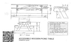 Plans Building Wooden Picnic Tables by 100 Plans For Building A Wood Picnic Table Build A Cedar