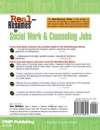 psychotherapist resume sample real resumes for social work counseling jobs anne mckinney real resumes for social work counseling jobs anne mckinney 9781475093919 amazon com books