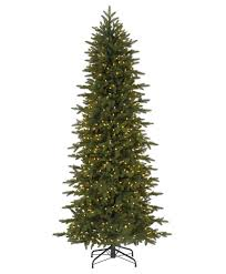excellent ideas pre lit slim tree trees artificial the