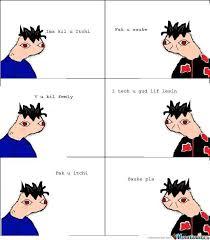 Plz Meme - sasuke plz by cookeaah meme center