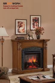amanda electric fireplace 2000w insert heater mantel buy