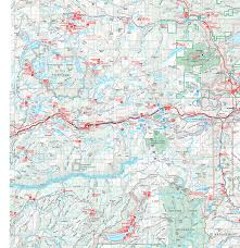 Squaw Trail Map Lake Tahoe West Shore Information